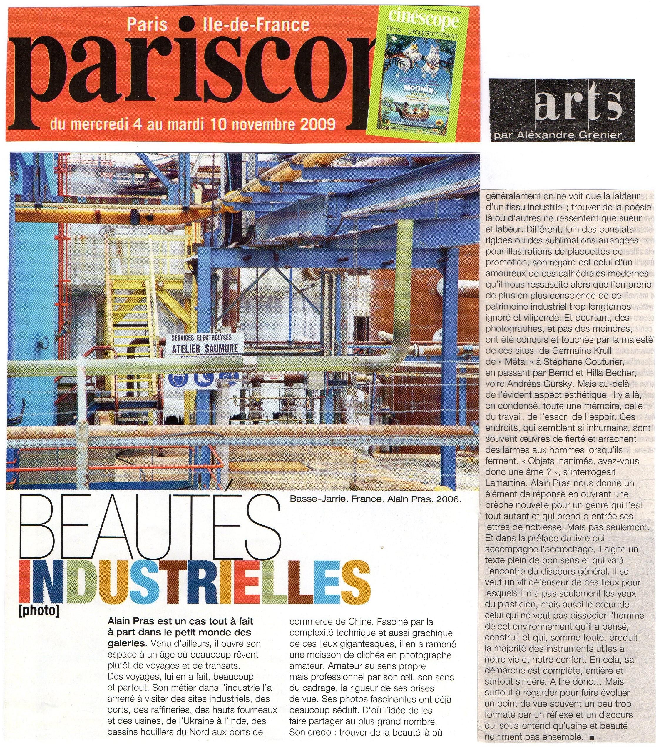 pariscope article